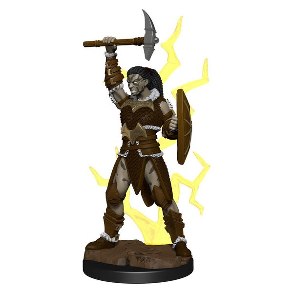 WIZKIDS DND ICONS OF THE REALMS GOLIATH BARBARIAN FEMALE PREM