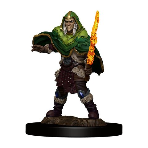 DND ICONS OF THE REALMS ELF FIGHTER MALE PREM FIG