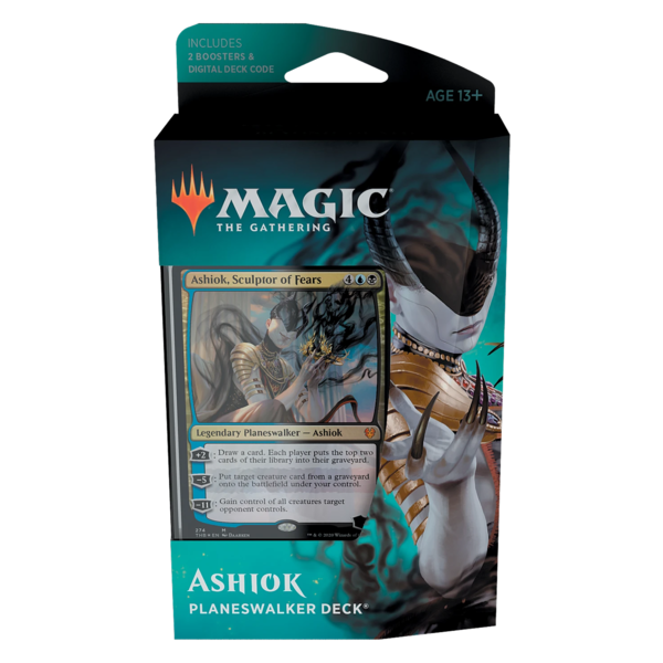 Wizards of the Coast MTG THEROS BEYOND DEATH PLANESWALKER DECK - ASHIOK