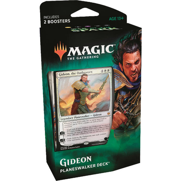 Wizards of the Coast MTG WAR OF THE SPARK PLANESWALKER DECK - GIDEON