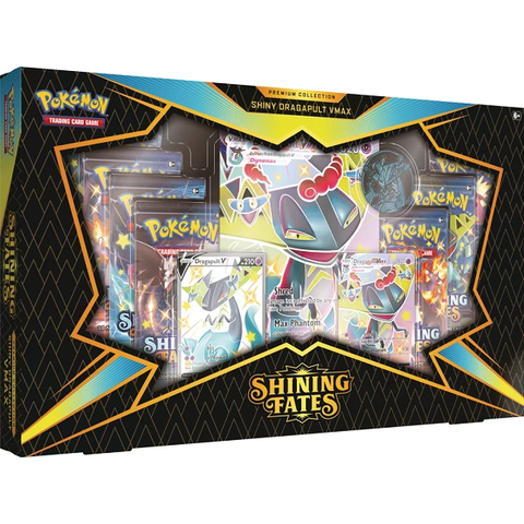 POKEMON SHINING FATES - Premium Collection Shiny Dragapult V *DATE DE SORTIE 19 MARS*