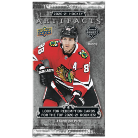Upper Deck UD ARTIFACTS HOCKEY 20/21 BOOSTER PACK
