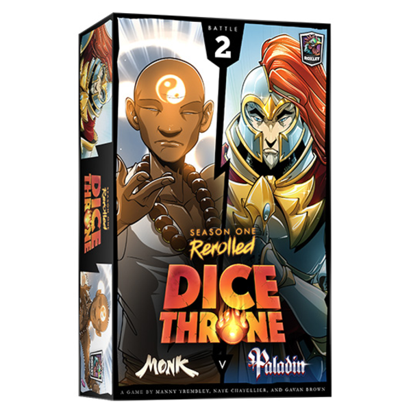 Roxley DICE THRONE S1 REROLLED - MONK VS PALADIN