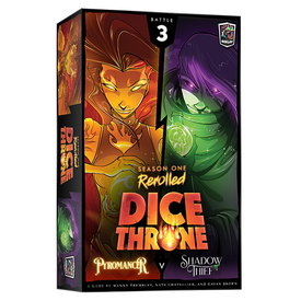 Roxley DICE THRONE S1 REROLLED -  PYRO VS SHADOW THIEF