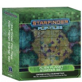 Paizo STARFINDER FLIP-TILES: ALIEN PLANET STARTER SET