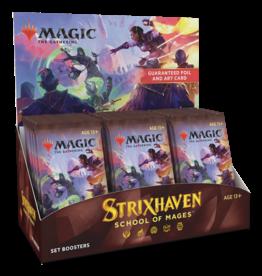 Wizards of the Coast MTG STRIXHAVEN SET BOOSTER BOX *DATE DE SORTIE 16 AVRIL*