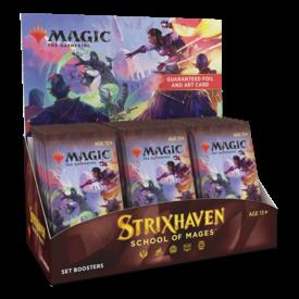 Wizards of the Coast MTG STRIXHAVEN SET BOOSTER BOX *DATE DE SORTIE 23 AVRIL*