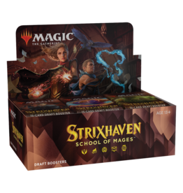 Wizards of the Coast MTG STRIXHAVEN DRAFT BOOSTER BOX *DATE DE SORTIE 23 AVRIL*