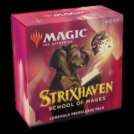 Wizards of the Coast MTG STRIXHAVEN PRERELEASE PACK - Lorehold *DATE DE SORTIE 16 AVRIL*