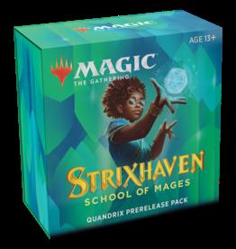 Wizards of the Coast MTG STRIXHAVEN PRERELEASE PACK - Quandrix *DATE DE SORTIE 16 AVRIL*