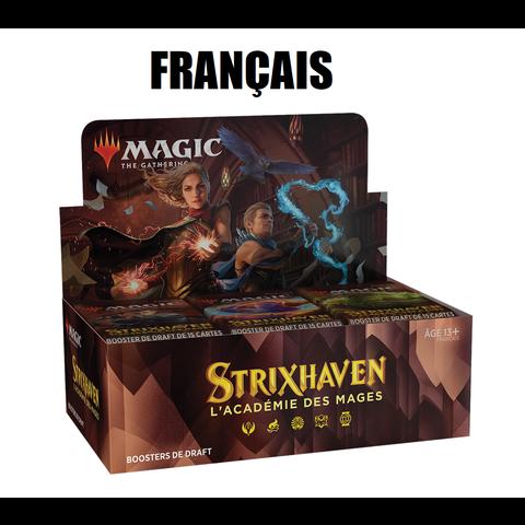 FRANÇAIS - MTG STRIXHAVEN - Boite de Booster Draft