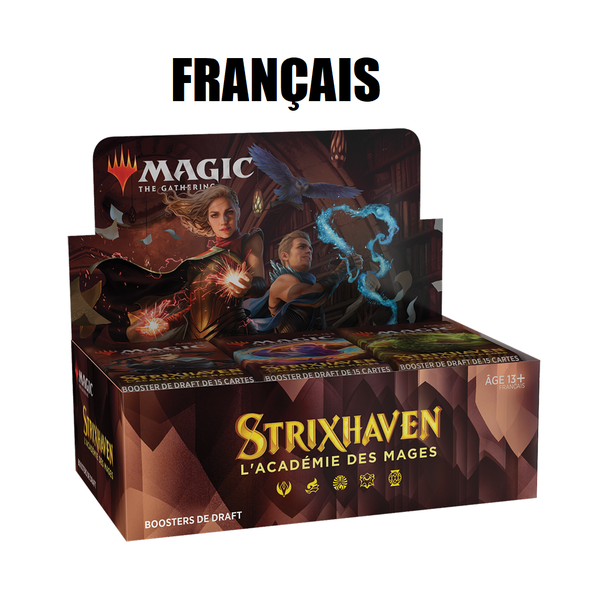 Wizards of the Coast FRANÇAIS - MTG STRIXHAVEN - Boite de Booster Draft