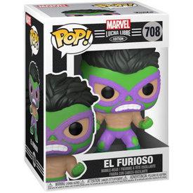 Funko POP! MARVEL LUCHADORES-HULK
