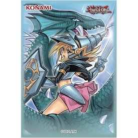 Konami YGO DARK MAGICIAN GIRL DRAGON KNIGHT SLEEVES 50ct