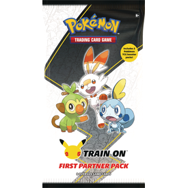 POKEMON POKEMON FIRST PARTNER PACK (GALAR) (3 oversized + 2 Boosters Réguliers)