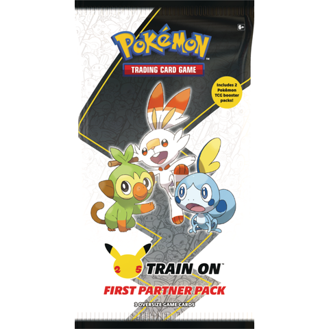 POKEMON FIRST PARTNER PACK (GALAR) (3 oversized + 2 Boosters Réguliers)