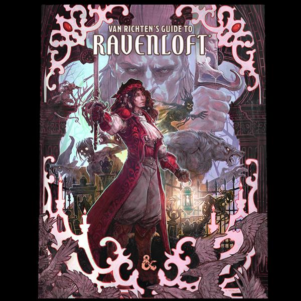 Wizards of the Coast DND RPG VAN RICHTEN'S GUIDE TO RAVENLOFT ALTERNATE COVER *DATE DE SORTIE 18 MAI*