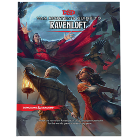 Wizards of the Coast DND RPG VAN RICHTEN'S GUIDE TO RAVENLOFT *DATE DE SORTIE 18 MAI*