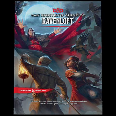 DND RPG VAN RICHTEN'S GUIDE TO RAVENLOFT