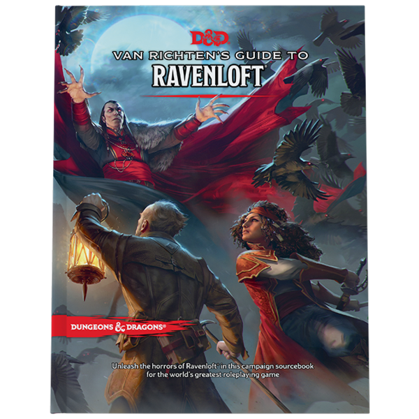 Wizards of the Coast DND RPG VAN RICHTEN'S GUIDE TO RAVENLOFT