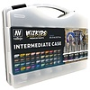 VALLEJO: WIZKIDS INTERMEDIATE PAINT CASE - 40 pots