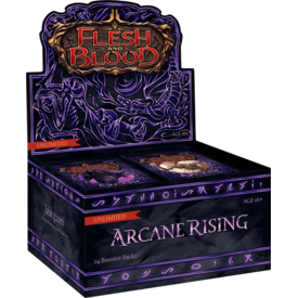 Legend Story Studios Arcane Rising Unlimited Booster Box - Flesh & Blood
