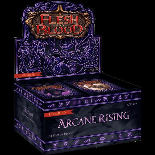Legend Story Studios Arcane Rising Unlimited Booster Box - Flesh & Blood