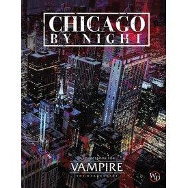 White wolf VAMPIRE: THE MASQUERADE CHICAGO BY NIGHT