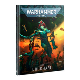 Warhammer 40k CODEX: DRUKHARI (EN)