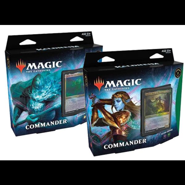 Wizards of the Coast MTG KALDHEIM COMBO - Commander Phantom Premonition &   Elven Empire