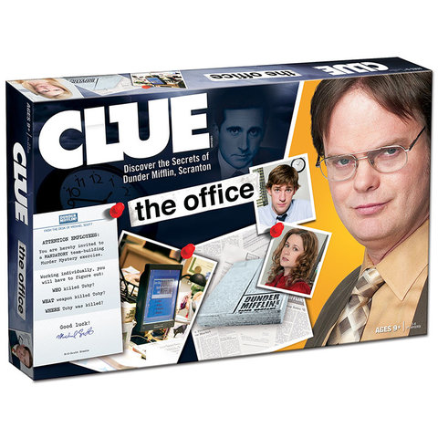 CLUE THE OFFICE EDITION (EN)