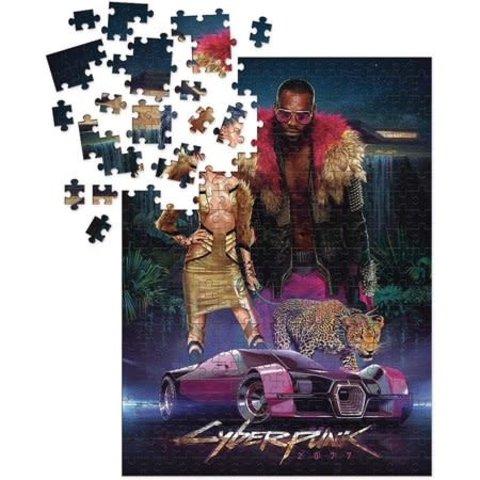 Puzzle 1000: CYBERPUNK 2077 PUZZLE 1000PC NEOKITSCH