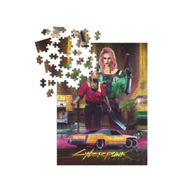 Dark Horse Comics Puzzle 1000: CYBERPUNK 2077 PUZZLE 1000PC KITSCH