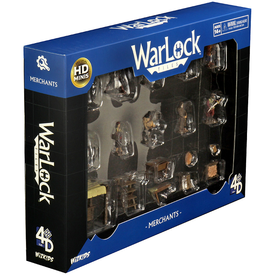 WIZKIDS WARLOCK TILES: ACCESSORY - MERCHANTS