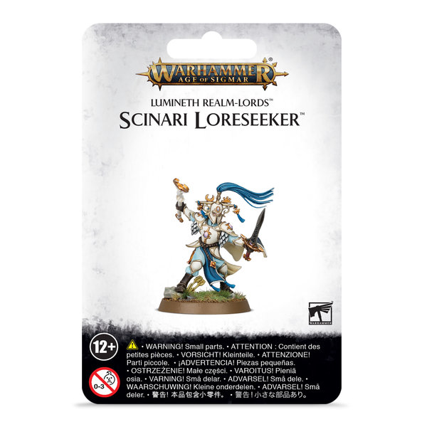 Age of Sigmar LUMINETH REALM-LORDS SCINARI LORESEEKER