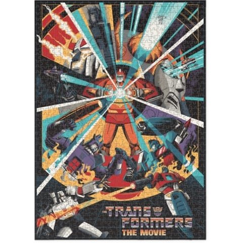 Puzzle 1000: TRANSFORMERS: THE MOVIE
