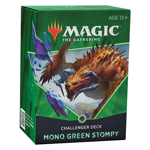 MTG CHALLENGER DECK 2021 - MONO GREEN STOMPY