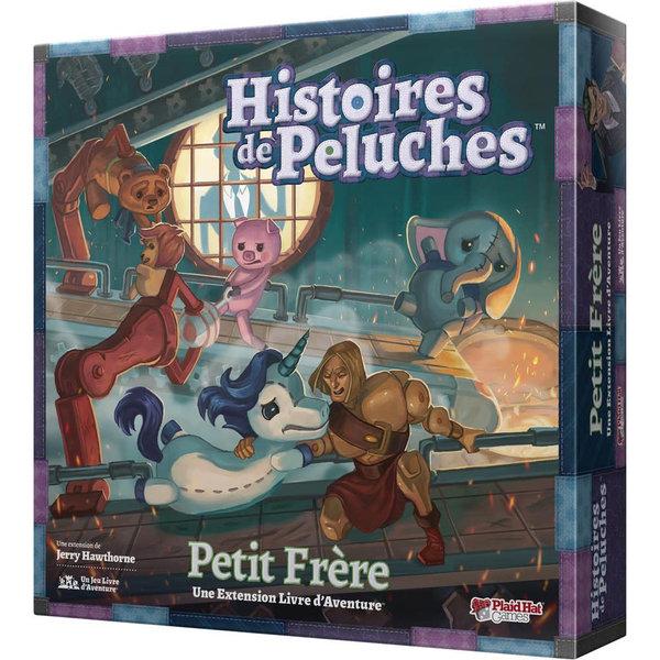 PLAID HAT HISTOIRES DE PELUCHES: PETIT FRERE