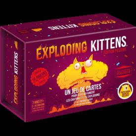 EXPLODING KITTENS EXPLODING KITTENS - EDITION FESTIVE (FR)