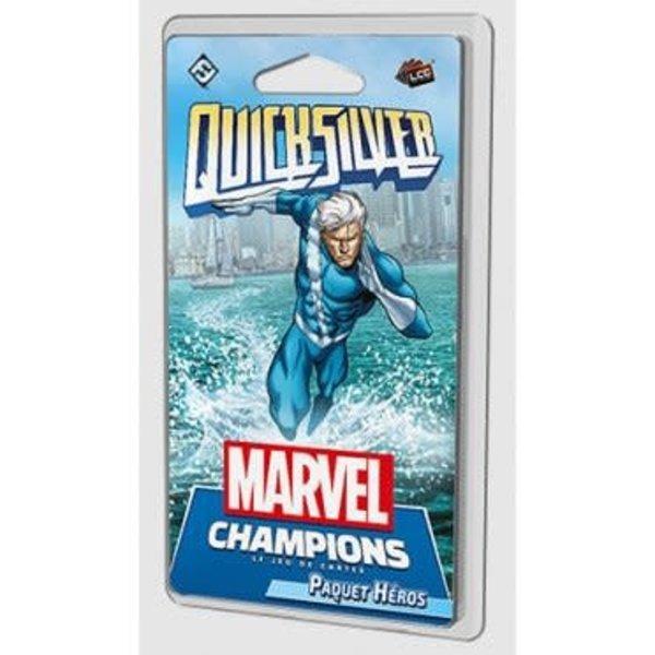 FANTASY FLIGHT Marvel Champions: Le Jeu De Cartes: Quicksilver (FR)