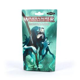 Warhammer Underworlds WH UNDERWORLDS: ESSENTIAL CARDS (FR) *DATE DE SORTIE 17 AVRIL*