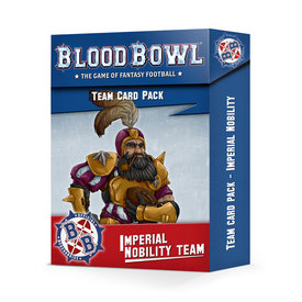 Blood Bowl BLOOD BOWL: IMPERIAL NOBILITY CARD PACK *DATE DE SORTIE 17 AVRIL*