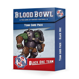 Blood Bowl BLOOD BOWL: BLACK ORC TEAM CARD PACK *DATE DE SORTIE 17 AVRIL*
