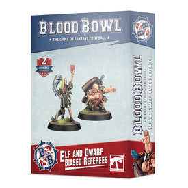 Blood Bowl BLOOD BOWL ELF AND DWARF BIASED REFEREES *DATE DE SORTIE 17 AVRIL*