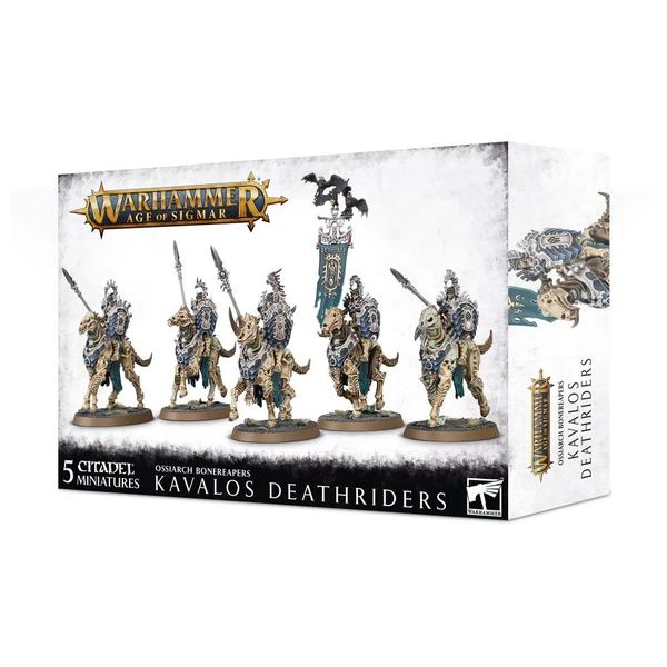 Age of Sigmar OSSIARCH BONEREAPERS KAVALOS DEATHRIDERS