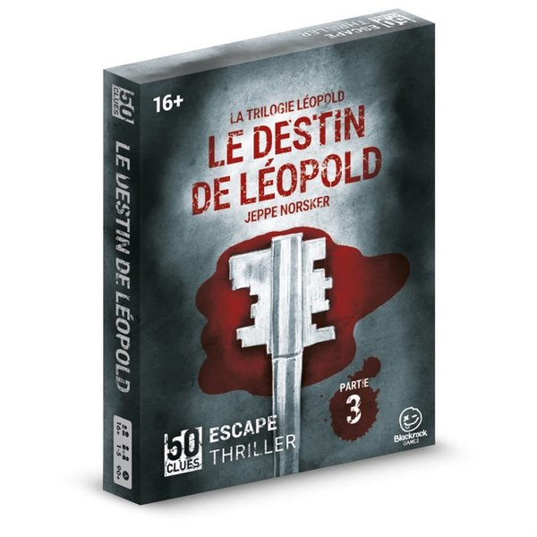 Blackrock Games 50 CLUES - LE DESTIN DE LEOPOLD (#3)
