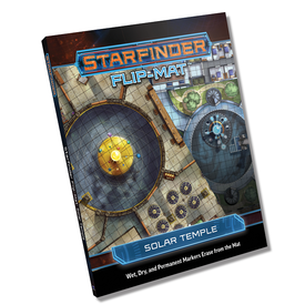 Paizo STARFINDER FLIP-MAT SOLAR TEMPLE