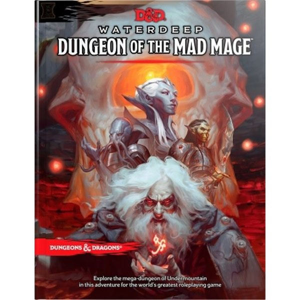 Wizards of the Coast DND RPG WATERDEEP: DUNGEON OF THE MAD MAGE