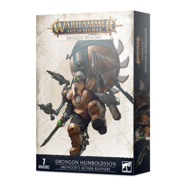 Age of Sigmar BROKEN REALMS: DRONGON'S AETHER-RUNNERS