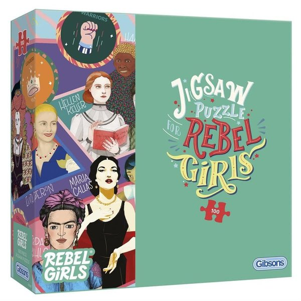 Gibson Puzzle: 100 Rebel Girls
